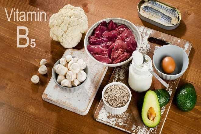 Nguồn bổ sung Vitamin B5