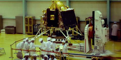 Vikram Lander As Part Of Chandrayaan 2
