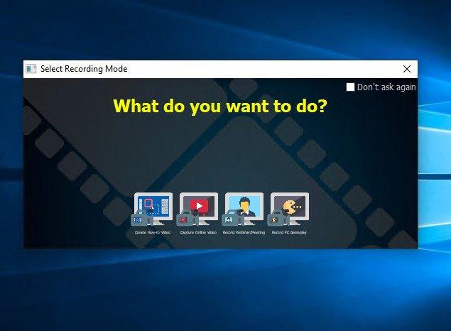 Windows Screen Recording Software