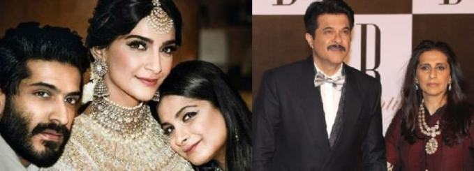 Sonam Kapoor family, sister, brother