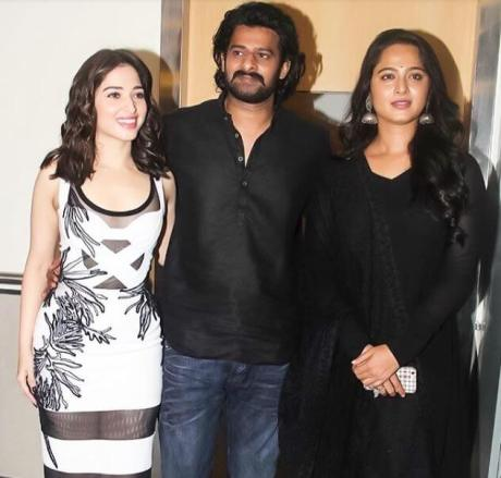 Prabhas and anushka sheety
