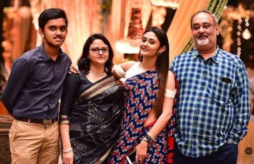 actress megha family