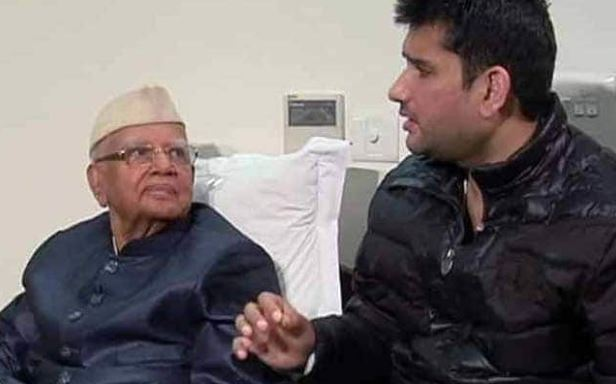 Father ND Tiwari