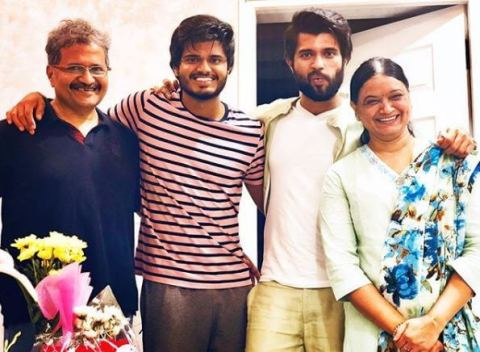 Actor Vijay's Family