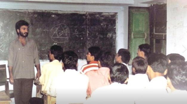 Anand Kumar super 30 tuition class photo