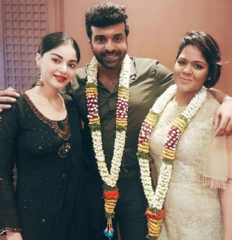 Actor Sathya and wife Ramya marriage