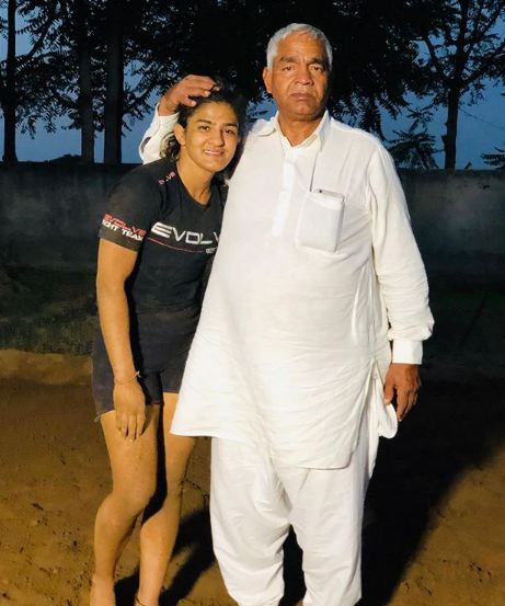Father Mahavir Singh Phogat