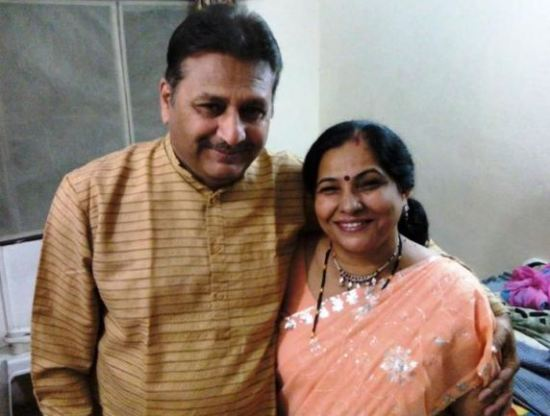 Puneett Chouksey's Parents