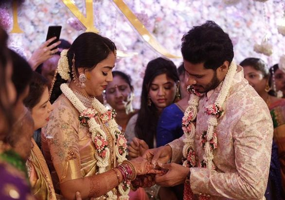 Ring Ceremony of Revathi Nikhil