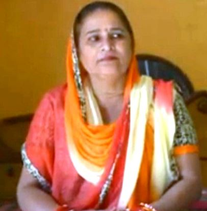 Manveer Gurjar's mother