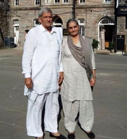 Jaideep Ahlawat's parents