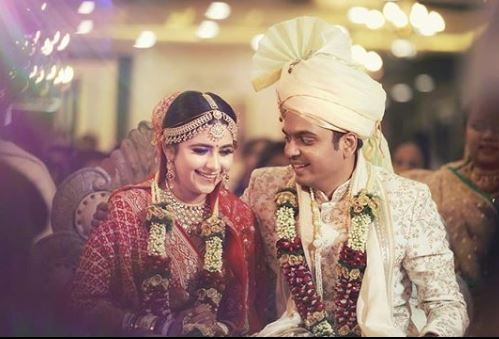 Palak Jain Marriage photo