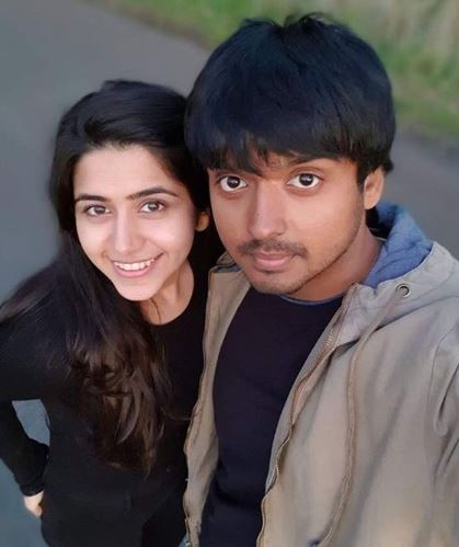 Palak Jain with husband Tapasvi Mehta