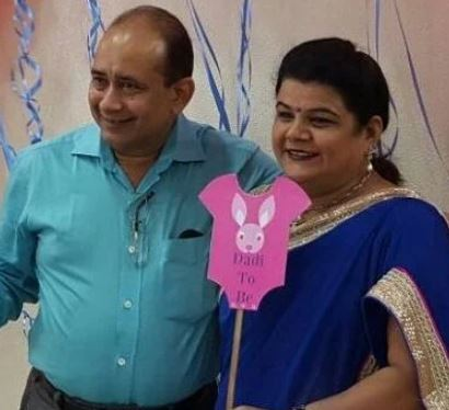 Palak Jain's Parents