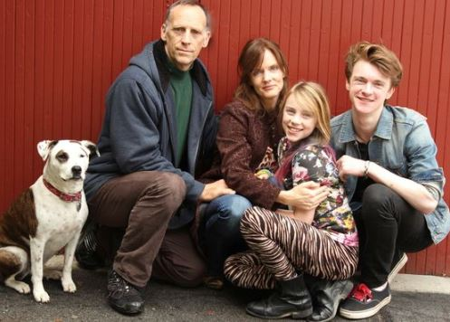 11 Year Billie with family