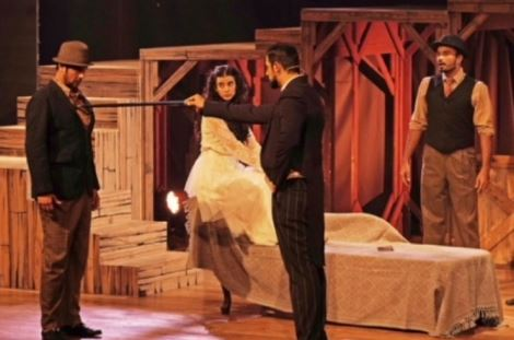 Saba Azad in Theater