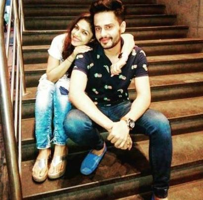 Shardul Pandit with Keerti Nagpure
