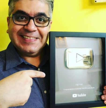 Rajeev Masand with Youtube Icon