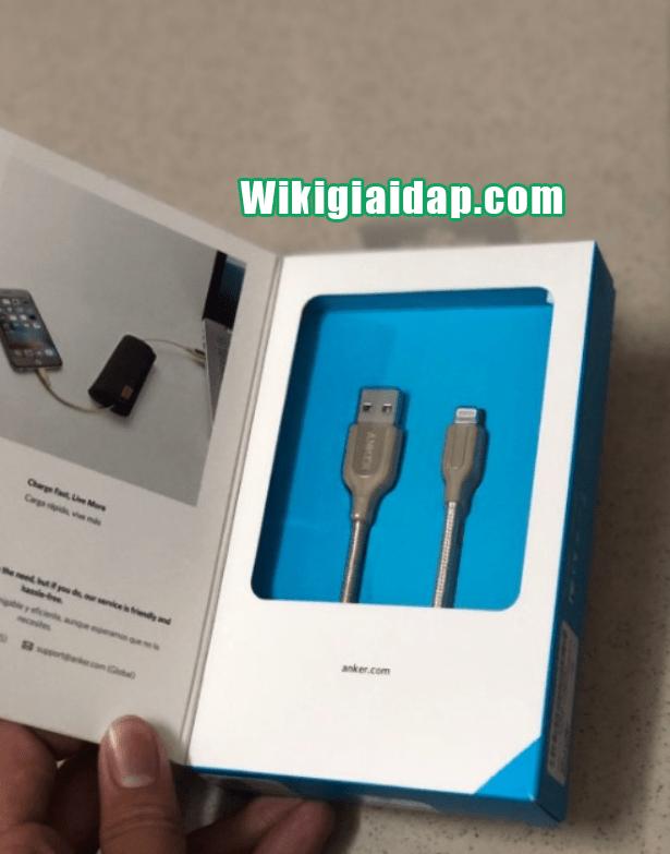 Dây Cáp Sạc Lightning Cho iPhone Anker PowerLine+ 0.9m