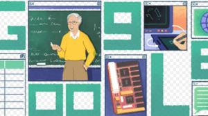 Michael Dertouzos is honoring with a Google doodle