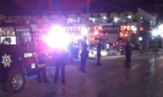 Playa Del Carmen restaurant Shooting