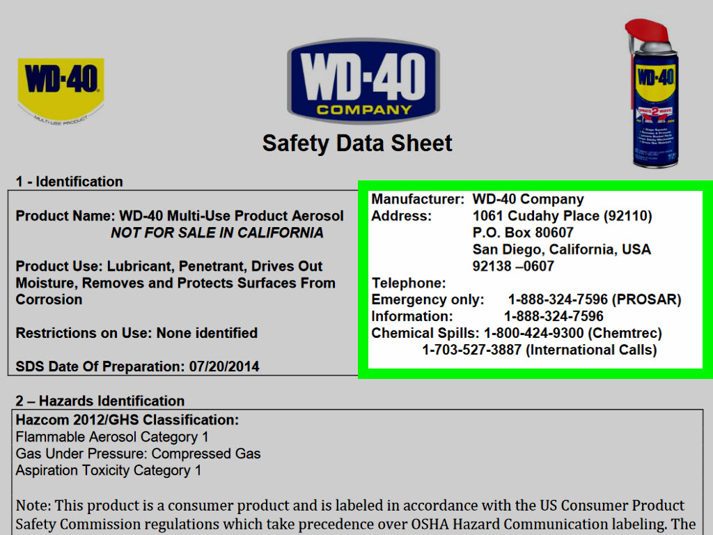 How To Find A Safety Data Sheet (SDS): 5 Steps (with Pictures