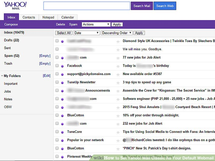 How To Set Yahoo! Mail Classic As Your Default Webmail: 4