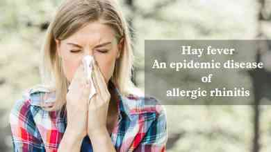 Photo of Hay Fever, an Epidemic Disease of Allergic Rhinitis