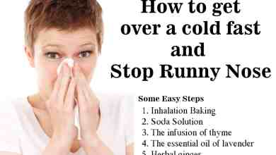 Photo of Home Remedies for a Runny Nose | Get Rid of Runny Nose