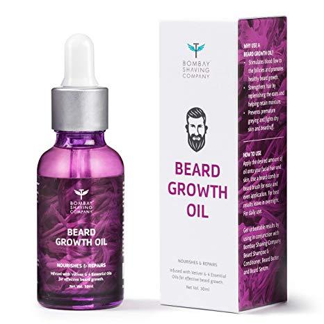 Bombay Shaving Beard Growth Oil