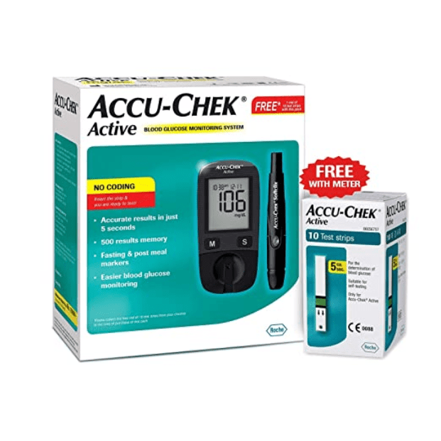 Accu-Chek Active Blood Glucose Meter Kit