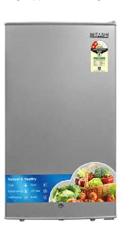 Mitashi 87 L 2 Star Direct Cool Single Door Refrigerator