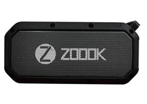 Zook Bass Warrior Portable Wireless Bluetooth Speaker