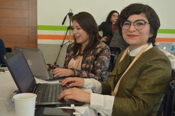 Asistentes al editatón #WikidiplomáticasMX Foto: ProtoplasmaKid / Wikimedia Commons