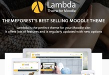 Lambda Responsive Moodle Theme Latest Review
