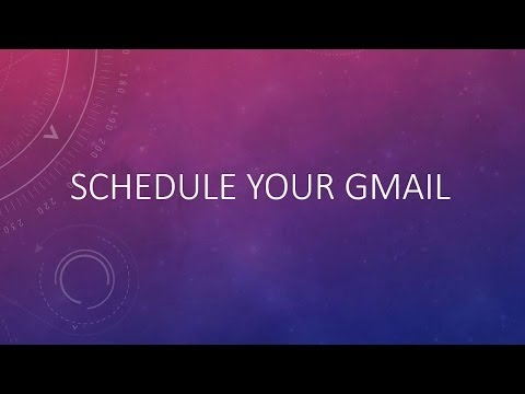 schedule-your-gmail