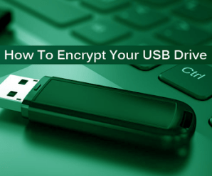 Tips To Encrypt USB Flash Drive