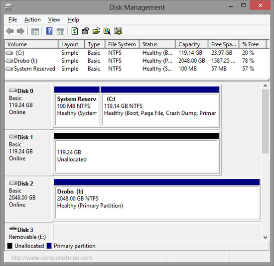 Delete Partition In Windows