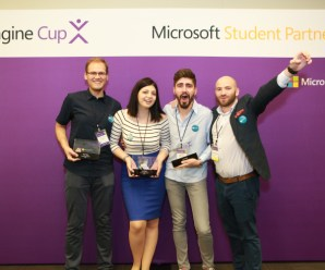 Microsoft Awards 2016 Imagine cup for Hardware Start up ENTy