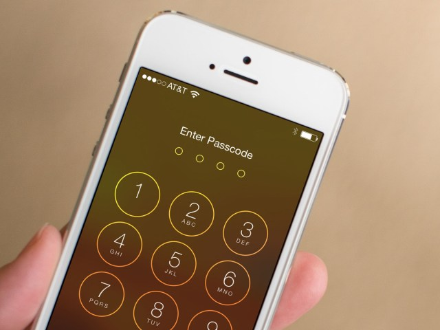 secure your iPhone or iPad