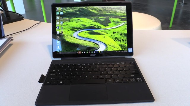 Acer Switch Alpha 12 liquid cooled convertible tablet