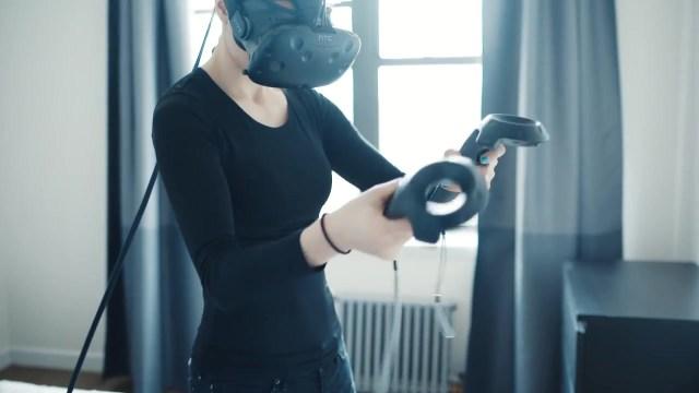 HTC Vive VR controller