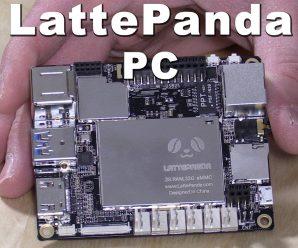 LattePanda Puts Windows 10 on a Single Board Computer