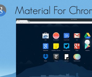 Make possible of Chrome's New Material Design Theme