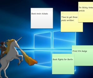How to use the Sticky Notes app in Windows 10