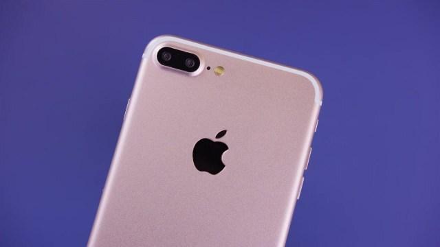 The iPhone 7 Plus Model Dual Cameras