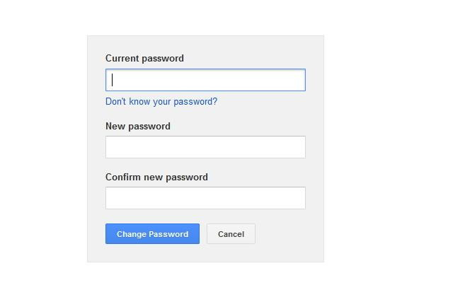 change password 2
