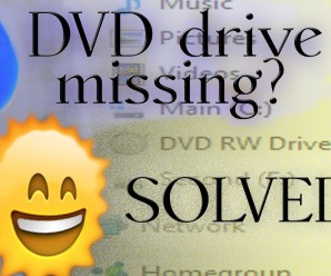 Why CD Drive Not Showing in My Laptop