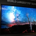 World Largest Samsung 170-inches SUHD TV built from modules