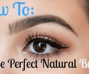 How To Shape Your Eyebrows Perfectly In Easy Steps